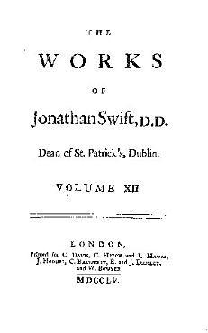 The Works of Jonathan Swift     PDF