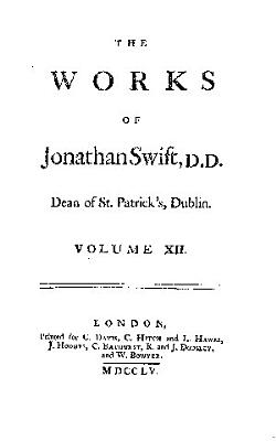 The Works of Jonathan Swift     PDF