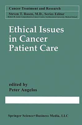 Ethical Issues in Cancer Patient Care PDF