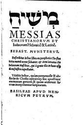 Messias Christianorum Et Iudaeorum