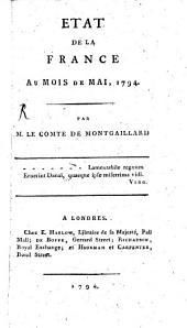 Etat de la France au mois de Mai 1794: Volume1