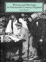 Women and Marriage in Nineteenth-Century England