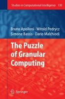 The Puzzle of Granular Computing PDF