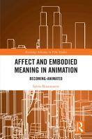 Affect and Embodied Meaning in Animation PDF
