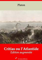 Critias ou l'Atlantide: Nouvelle édition augmentée