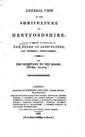 Agricultural Surveys: Hertfordshire (1804)