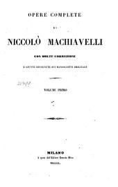 Opere complete: Volume primo