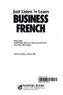 Just Listen 'N Learn Business French