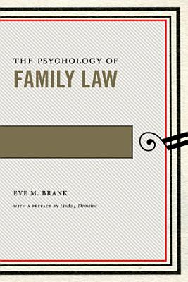 The Psychology of Family Law PDF
