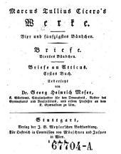 Marcus Tullius Ciceros Werke: Band 17