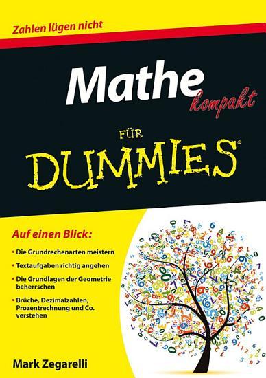 Mathe kompakt f  r Dummies PDF