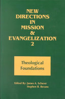 New Directions in Mission and Evangelization  Theological foundations PDF