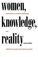 Women  Knowledge  and Reality PDF