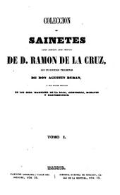Coleccion de sainetes: Volumen 1