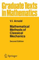 Mathematical Methods of Classical Mechanics PDF