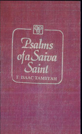 Psalms of a Saiva Saint PDF