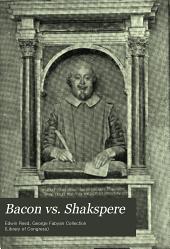 Bacon vs. Shakspere: brief for plaintiff