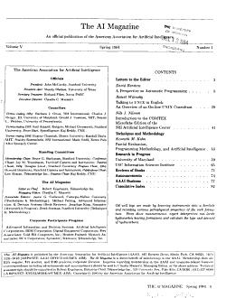 AI Magazine PDF