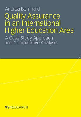 Quality Assurance in an International Higher Education Area PDF
