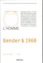 Gender & 1968