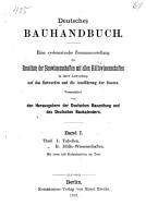 Deutsches bauhandbuch  1  th  Tabellen  2  th  H  lfswissenschaften  1879 PDF
