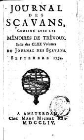 Le journal des sçavans, combiné avec les mémoires de Trévoux: Volumes1à6