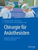 Chirurgie f  r An  sthesisten PDF
