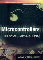 Microcontrollers  Theory and Applications PDF