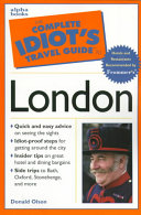 The Complete Idiot s Travel Guide to London PDF