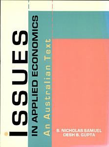 Issues in Applied Economics Book