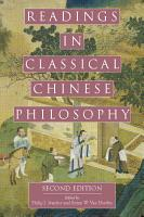 Readings in Classical Chinese Philosophy  Second Edition  PDF