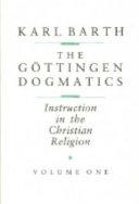 The Göttingen Dogmatics