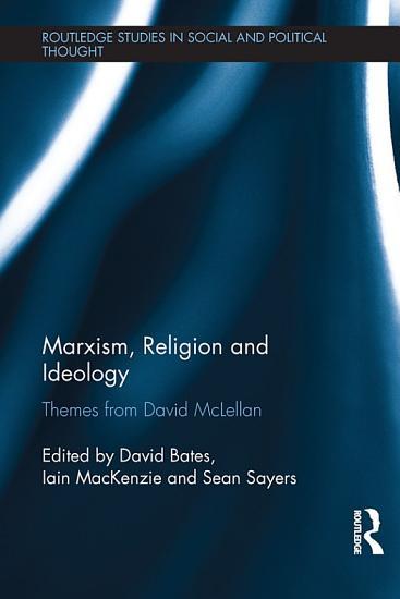 Marxism  Religion and Ideology PDF