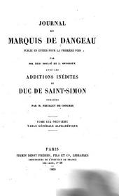 Journal du marquis de Dangeau: Volume 19