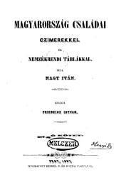 Magyarország családai: Czimerekkel és nemzékrendi táblákkal, 1-2. kötet