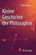 Kleine Geschichte der Philosophie PDF