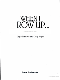 When I Grow Up PDF