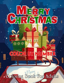 Merry Christmas Color By Number Coloring Book For Adults