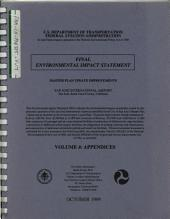 San Jose International Airport, Master Plan Update Improvements: Environmental Impact Statement, Volume 4