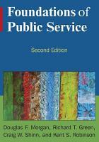Foundations of Public Service PDF