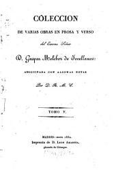 Colección de varias obras en prosa y verso: Volumen 5