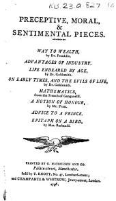 An Essay on Man. By Alexander Pope, Esq