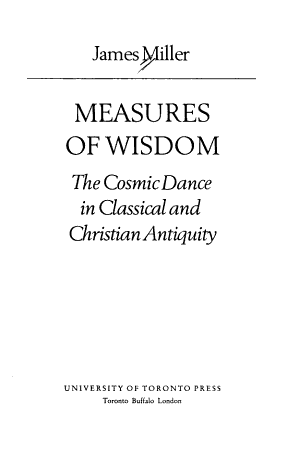 Measures of Wisdom