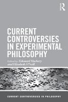 Current Controversies in Experimental Philosophy PDF