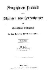 Stenographische Protokolle: Volume 2