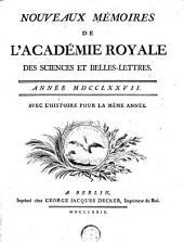 Abhandlungen der Königlichen Akademie der Wissenschaften zu Berlin