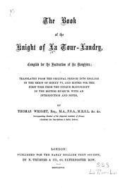 The Book of the Knight of La Tour-Landry: Compiled for the Instruction of His Daughters, Issues 15-16; Issue 33