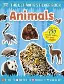 Ultimate Sticker Book Animals
