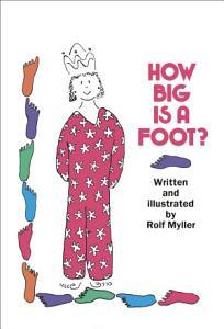How Big Is a Foot  Book