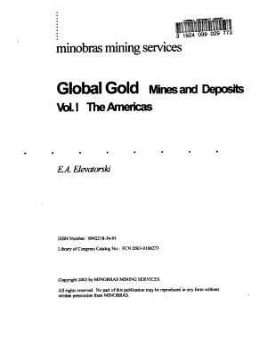 Global Gold: The Americas